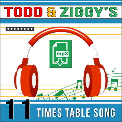 Todd & Ziggy-11 Times Tables (Audio)
