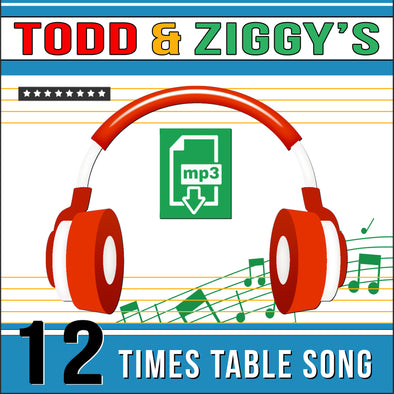 Todd & Ziggy-12 Times Tables (Audio)