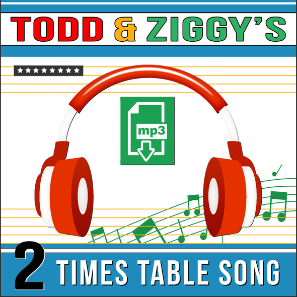 Todd & Ziggy 2 Times Tables (Audio)