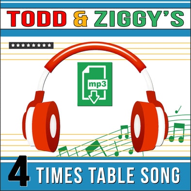 Todd & Ziggy 4 Times Tables (Audio)