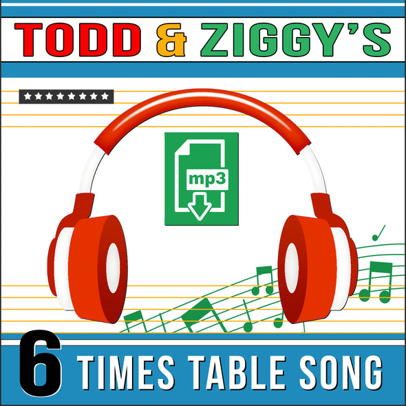 Todd & Ziggy 6 Times Tables (Audio)