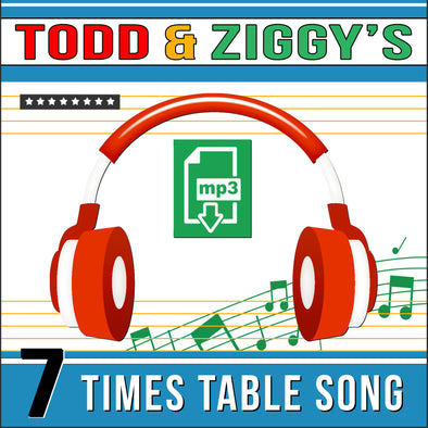 Todd & Ziggy 7 Times Tables (Audio)