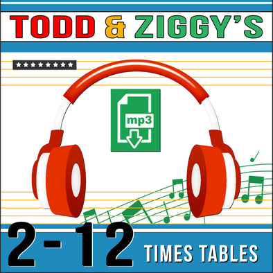 Todd & Ziggy-2-12 Times Tables (Audio)