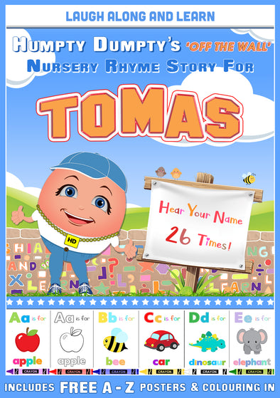 Personalised Nursery Rhyme Story for Tomas