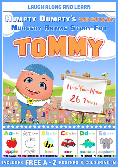 Personalised Nursery Rhyme Story for Tommy