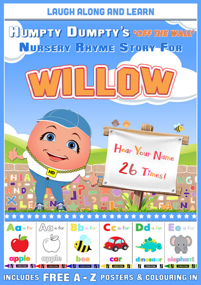 Personalised Nursery Rhyme Story for Willow