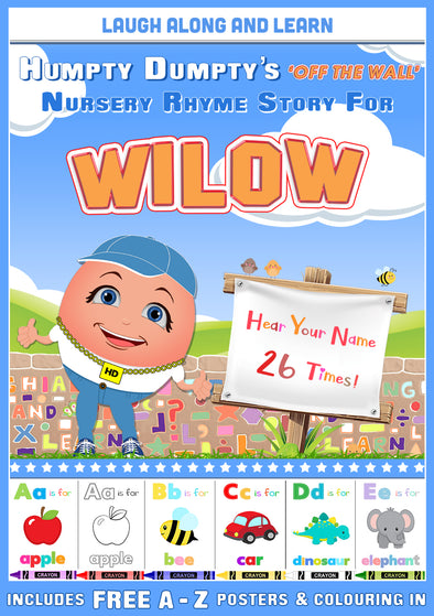 Personalised Nursery Rhyme Story for Wilow