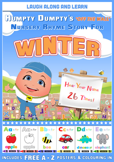 Personalised Nursery Rhyme Story for Winter