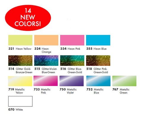 New Marabu Alcohol Ink Line!