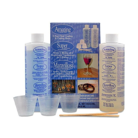 Amazing Clear Cast Epoxy 8oz kit (16oz total)