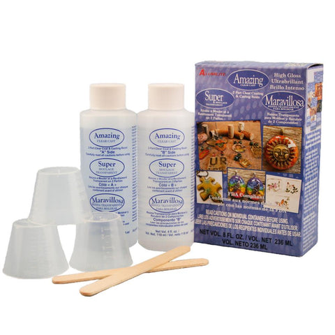Amazing Clear Cast Epoxy 4oz kit (8oz total)