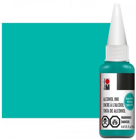 Aqua Green Marabu Alcohol Ink