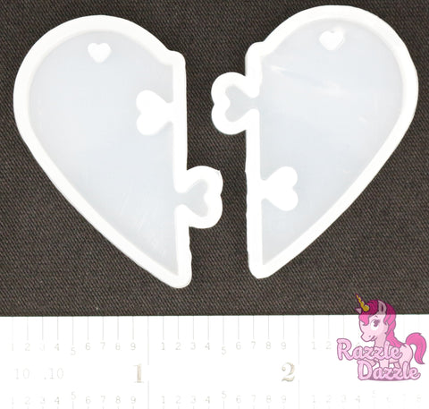 BFF Heart Molds