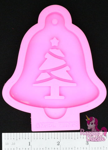 Christmas Tree Bell Ornament Mold