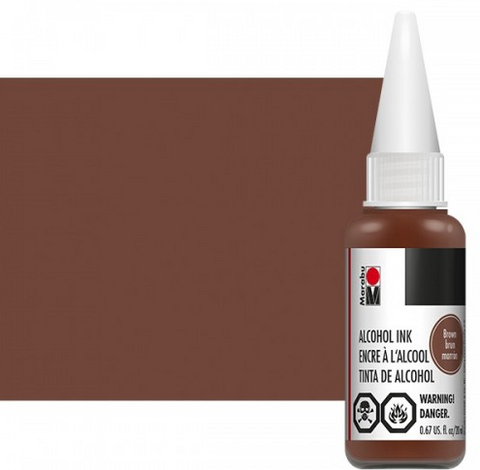 Brown Marabu Alcohol Ink