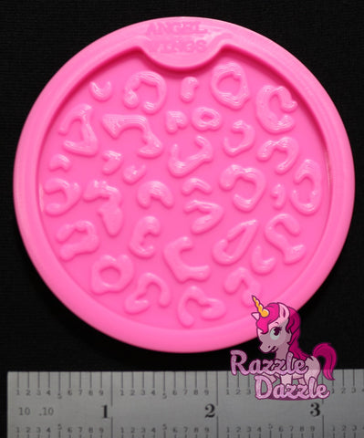 Animal Print Car Coaster (med.) Mold