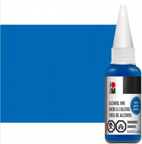 Gentian Marabu Alcohol Ink