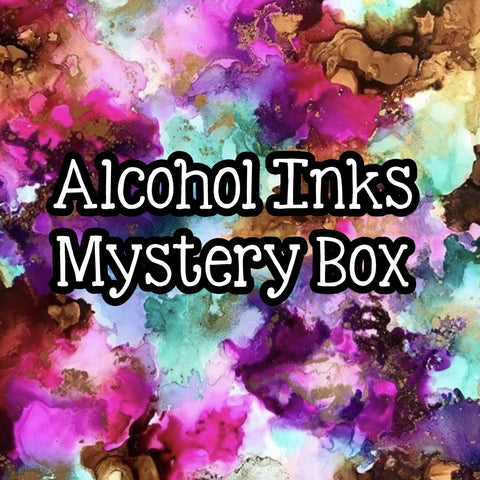 Alcohol Inks Mystery Box!!