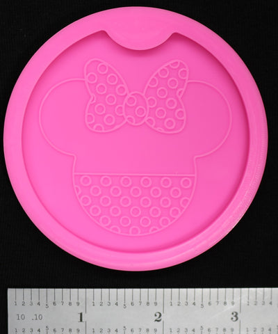 Girl Mouse Car Coaster