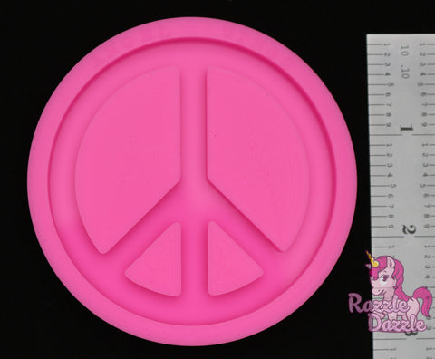 Peace sign mold
