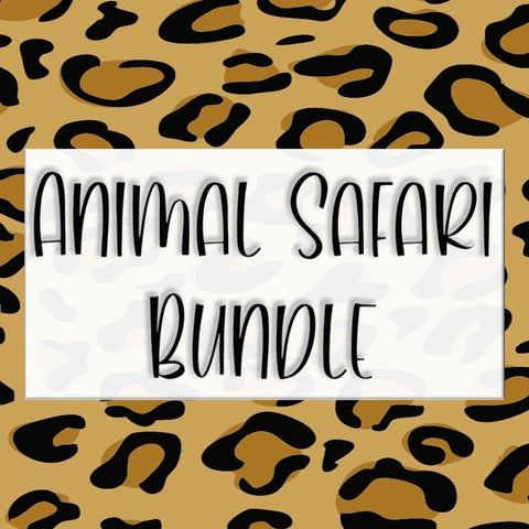 Animal Safari Bundle