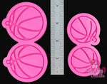 Basketball Earrings Mold