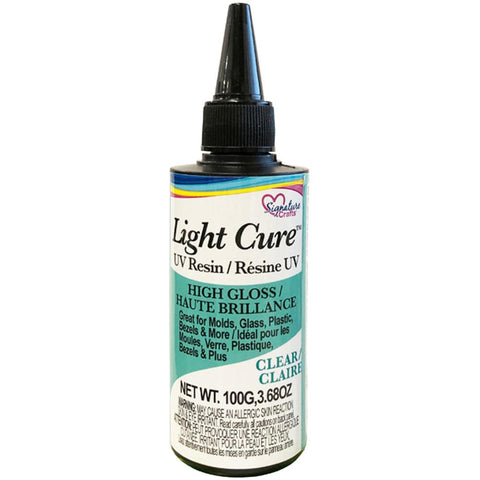 Light Cure Clear UV Resin 100g