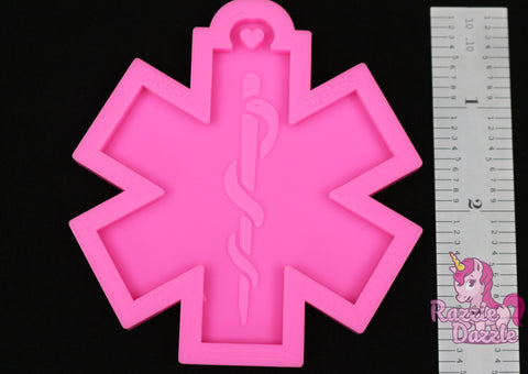 Star of Life Key Chain Mold