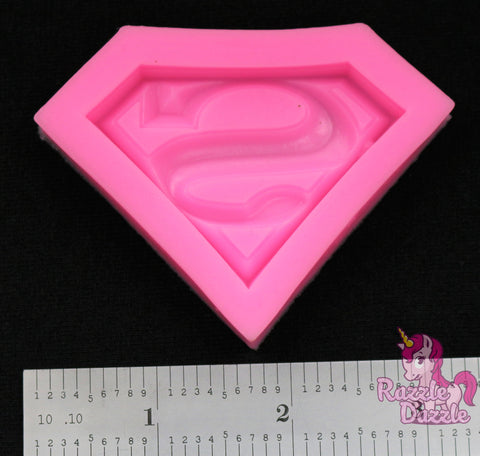 Superhero S Logo Mold