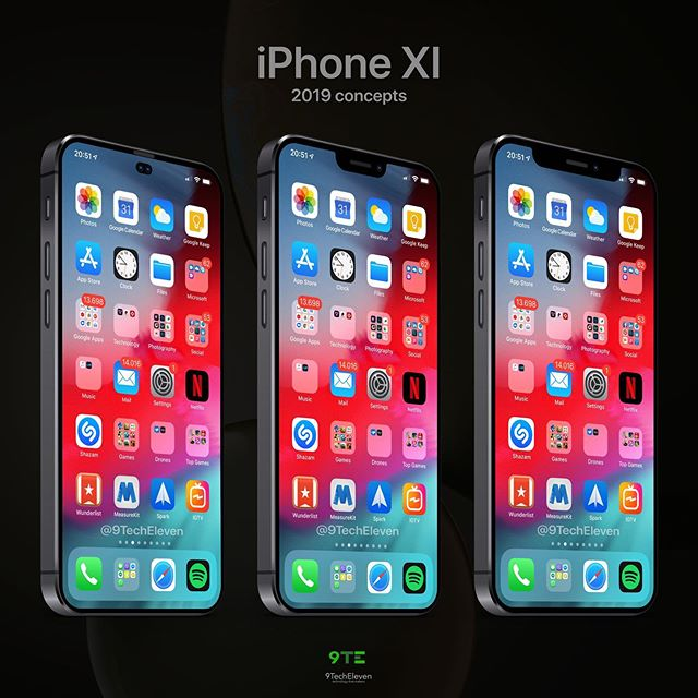 Apple iPhone XI Concept 2019