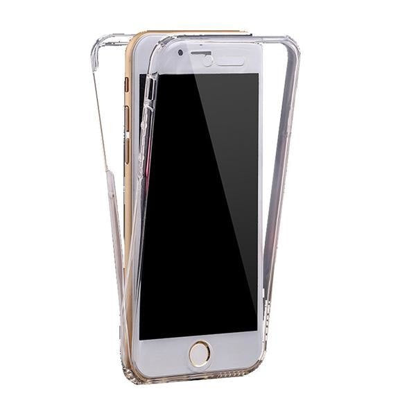 Coque En Silicone Tpu Totale Protection Couverture 360 Pour Iphone 5S