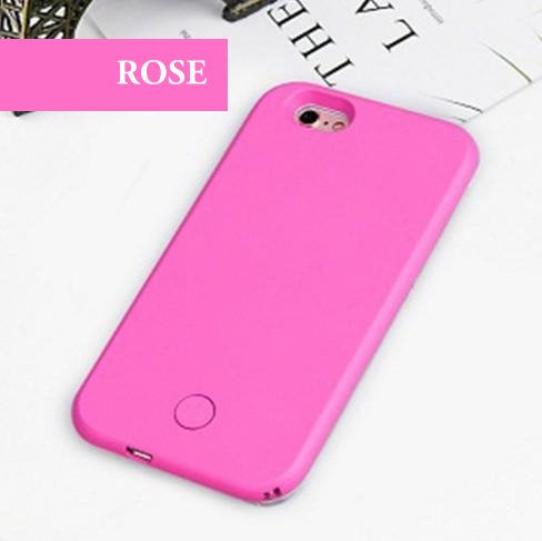 coque iphone 8 lumiere led
