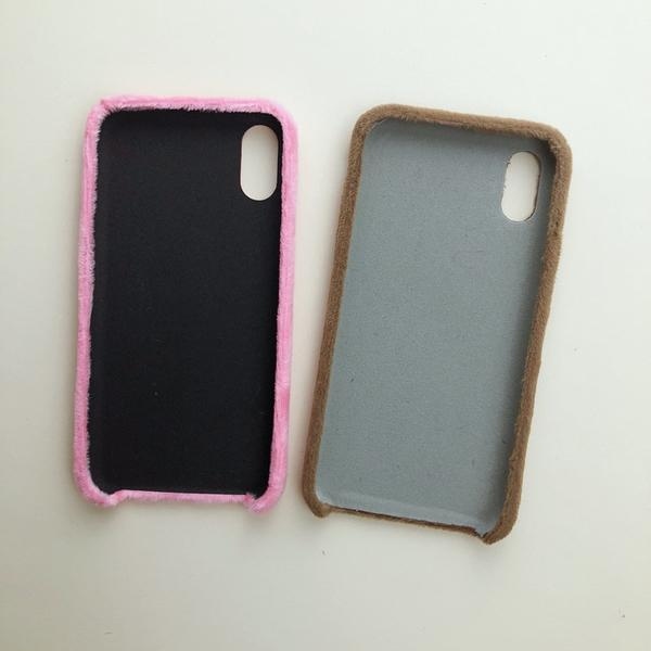 coque velour iphone 6