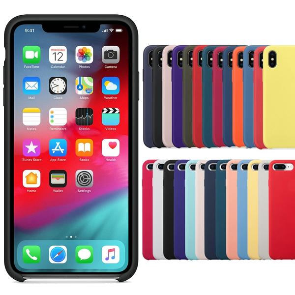 coque iphone 6 plus silicone couleur