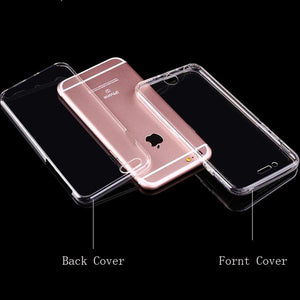 Coque en silicone TPU totale protection couverture 360 pour iPhone XS