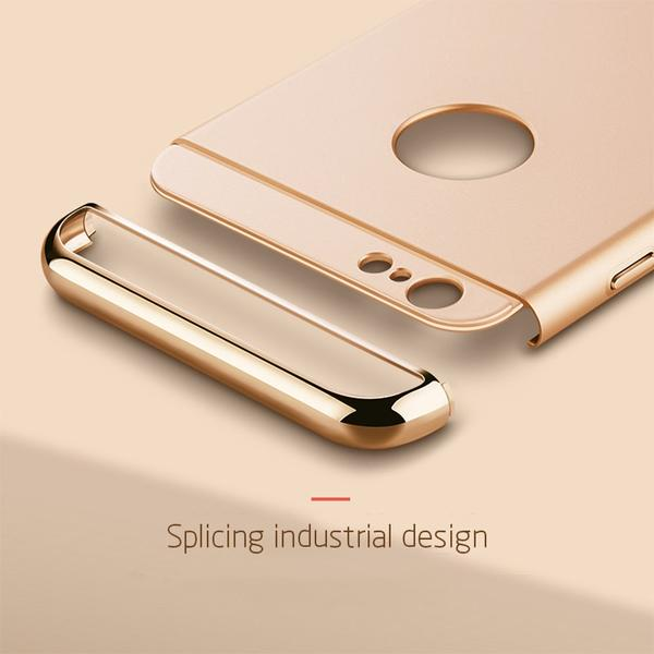 Coque luxueuse avec bordures reproduction platine pour iPhone XS Max
