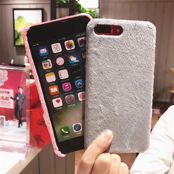 coque fourrure iphone 7 plus