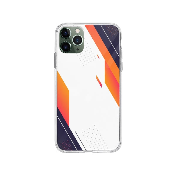 Coque Design Abstrait pour iPhone 11 Pro Max - Transparent