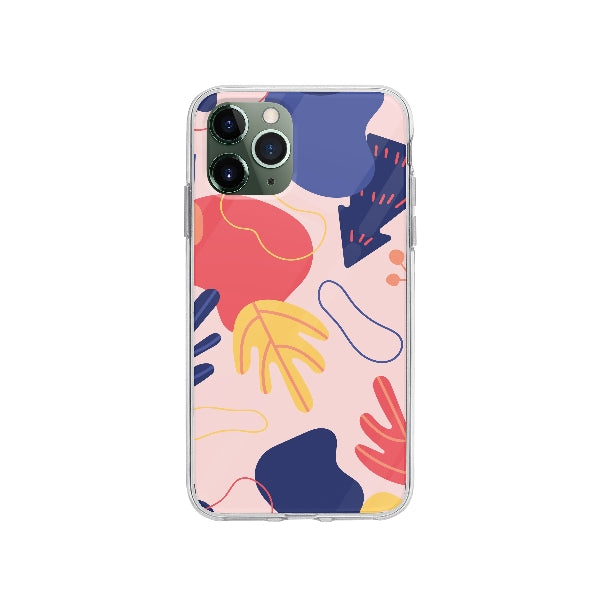 Coque Dessin Abstrait pour iPhone 11 Pro - Transparent