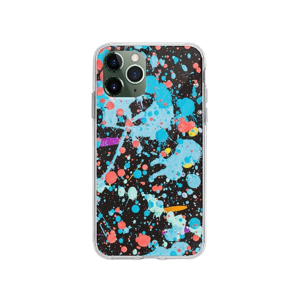 Coque Graffiti Coloré pour iPhone 11 Pro - Transparent