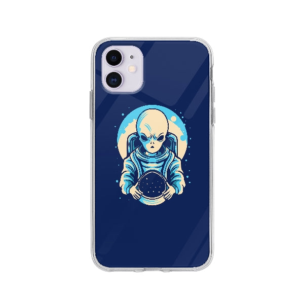 Coque Extraterrestre Astronaute pour iPhone 11 - Transparent