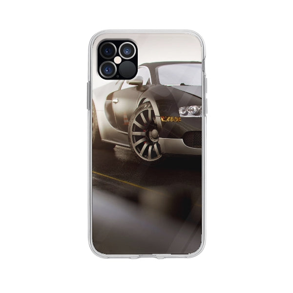Coque Bugatti Veyron pour iPhone 12 Pro Max - Transparent