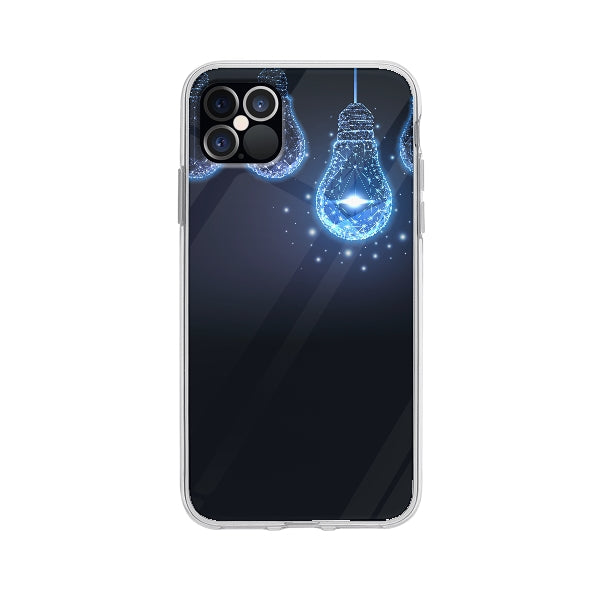 Coque Lueur Futuriste pour iPhone 12 Pro Max - Transparent