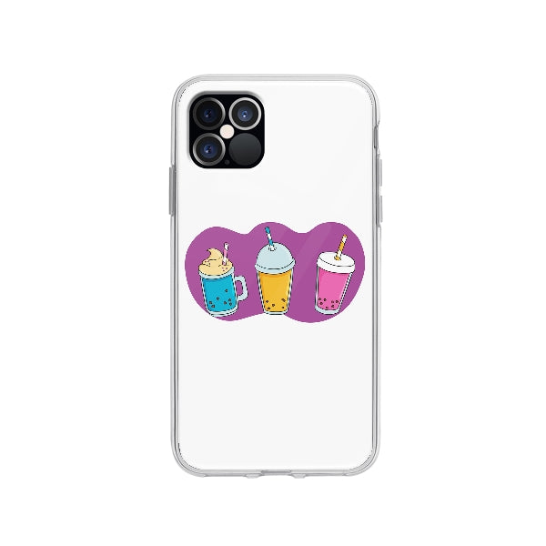 Coque Bubble Tea pour iPhone 12 Pro - Transparent