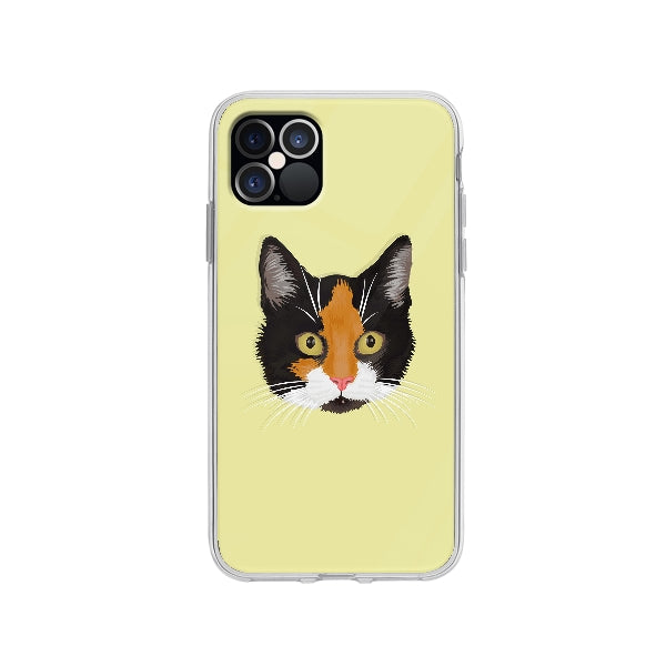 Coque Dessin Chat A La Main pour iPhone 12 Pro - Transparent