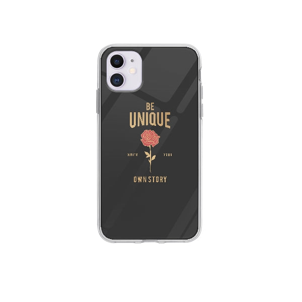 Coque Be Unique pour iPhone 12 - Transparent