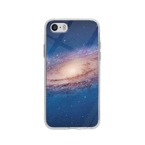 Coque Galaxy pour iPhone 5 - Transparent