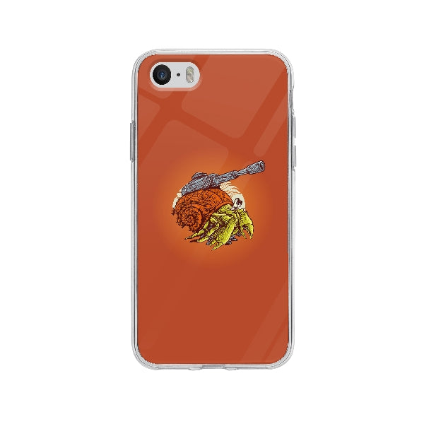 Coque Crabe Machine De Guerre pour iPhone 5S - Transparent