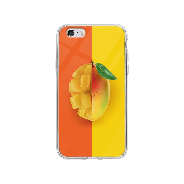 Coque Mangue Tranché pour iPhone 6 Plus - Transparent