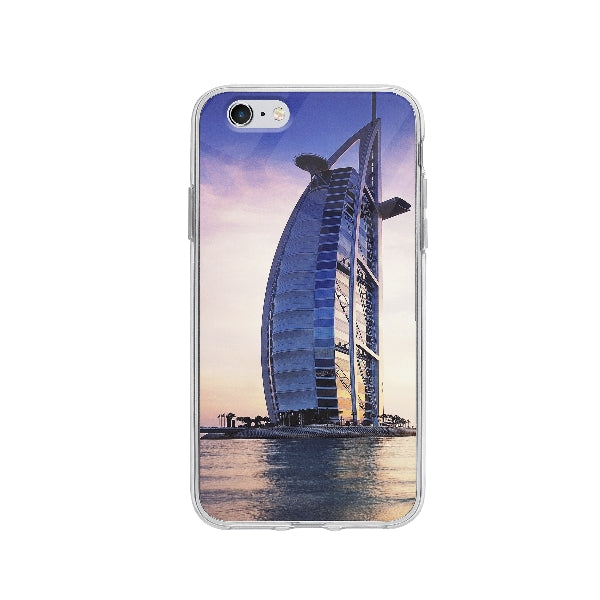 Coque Burj Al Arab Dubai pour iPhone 6 - Transparent